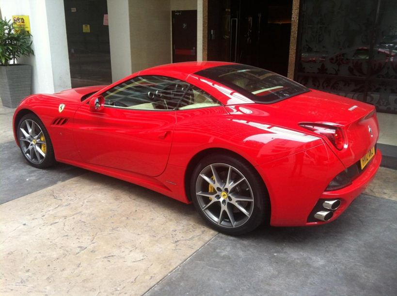 Ferrari Wedding Car Rental Malaysia Bridal Sports Car Hire