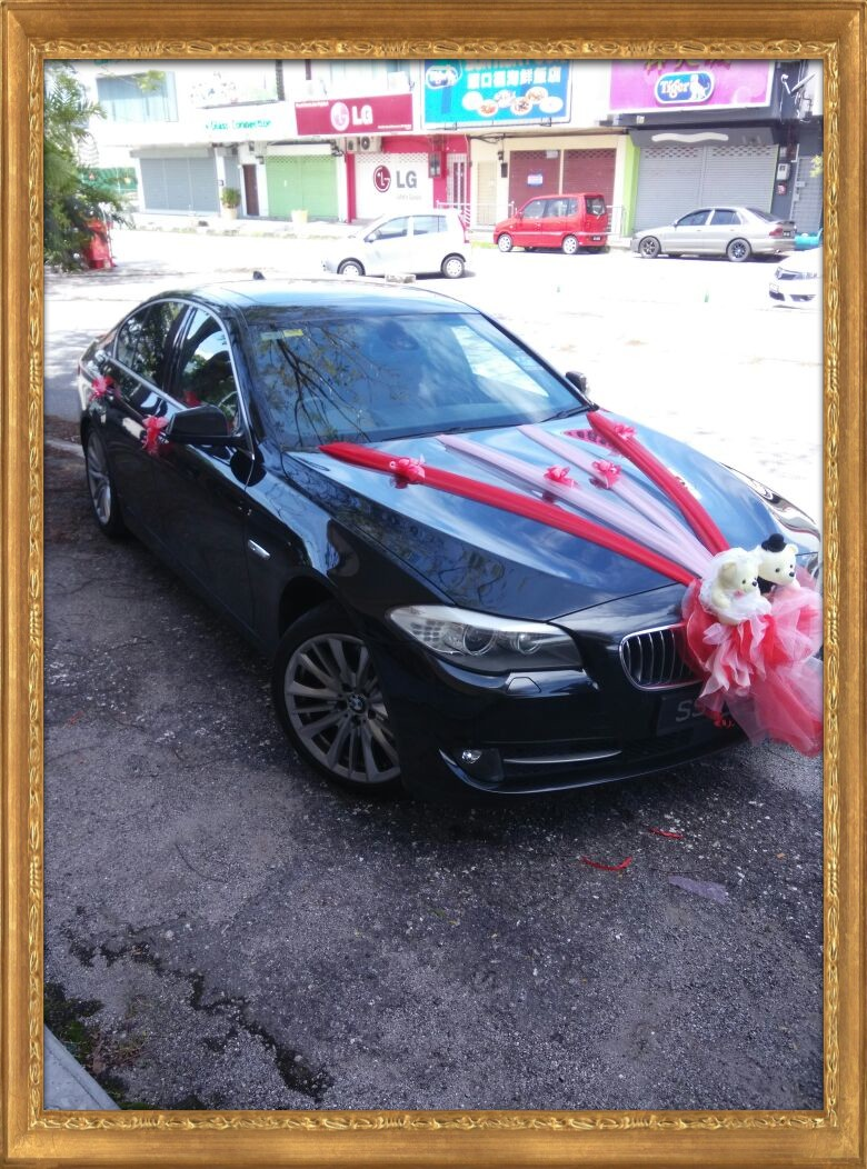 Bmw Wedding Car Front